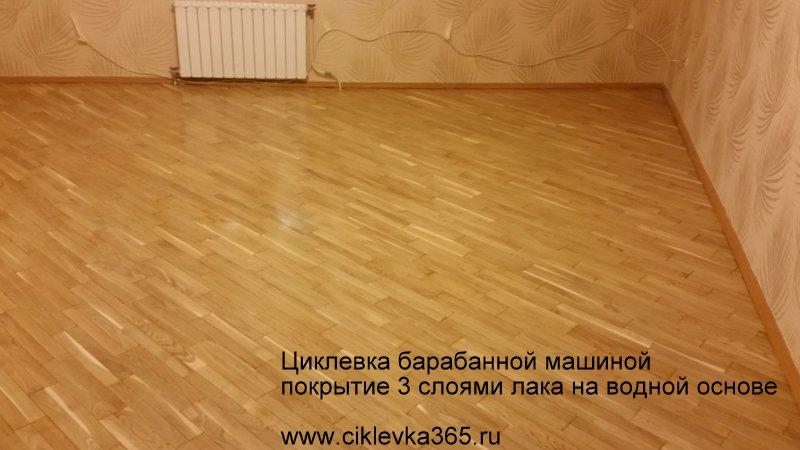 Недорогой ремонт паркета - от 130 руб. за метр