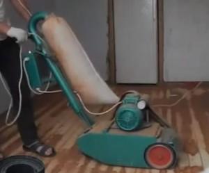 Все оборудование с мешками для сбора пыли